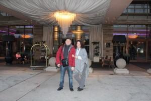 Напротив отеля