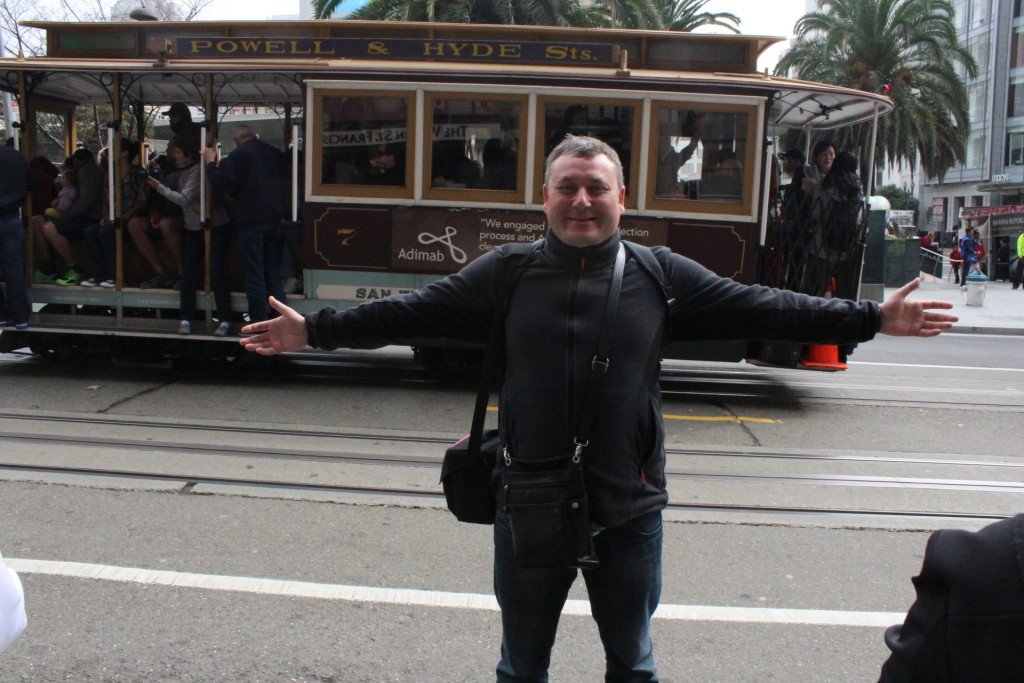 В центре Сан Франциско