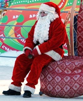 Дед Мороз устал