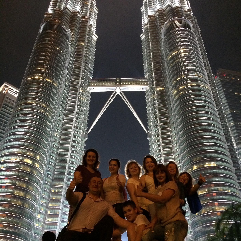 Башни близнецы в Куала Лумпуре